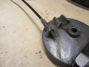 Iso brake adjuster